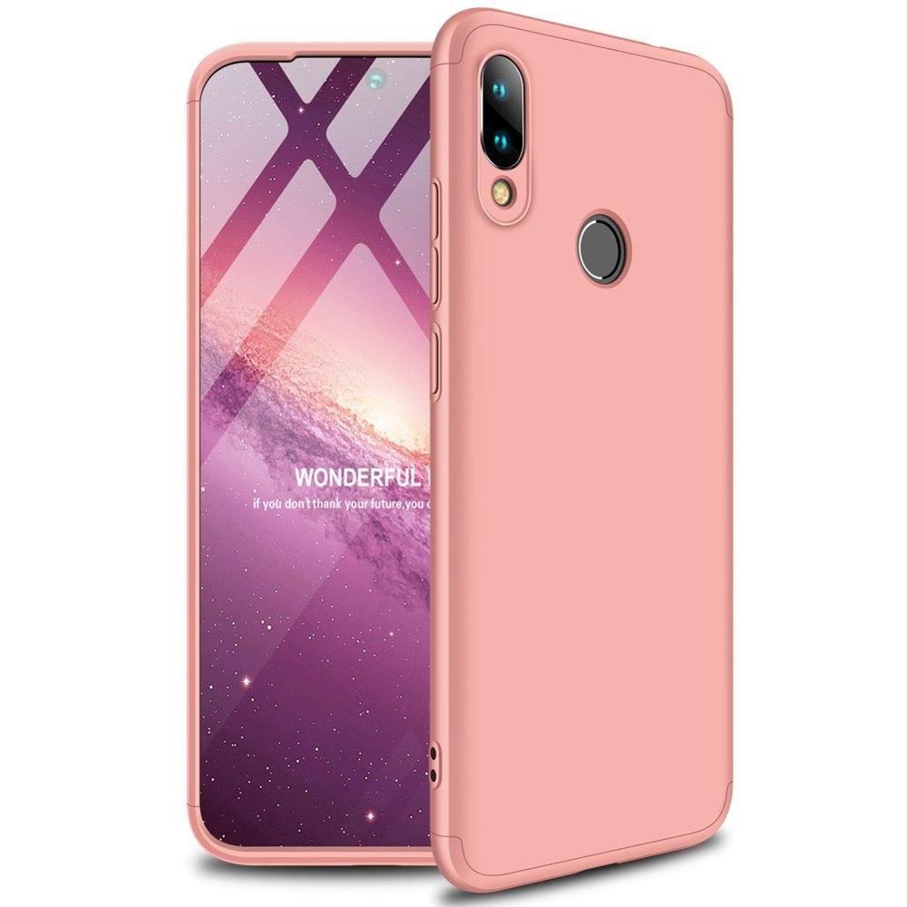 GKK Θήκη Hybrid Full Body 360° Xiaomi Redmi 7 - Pink (49237)