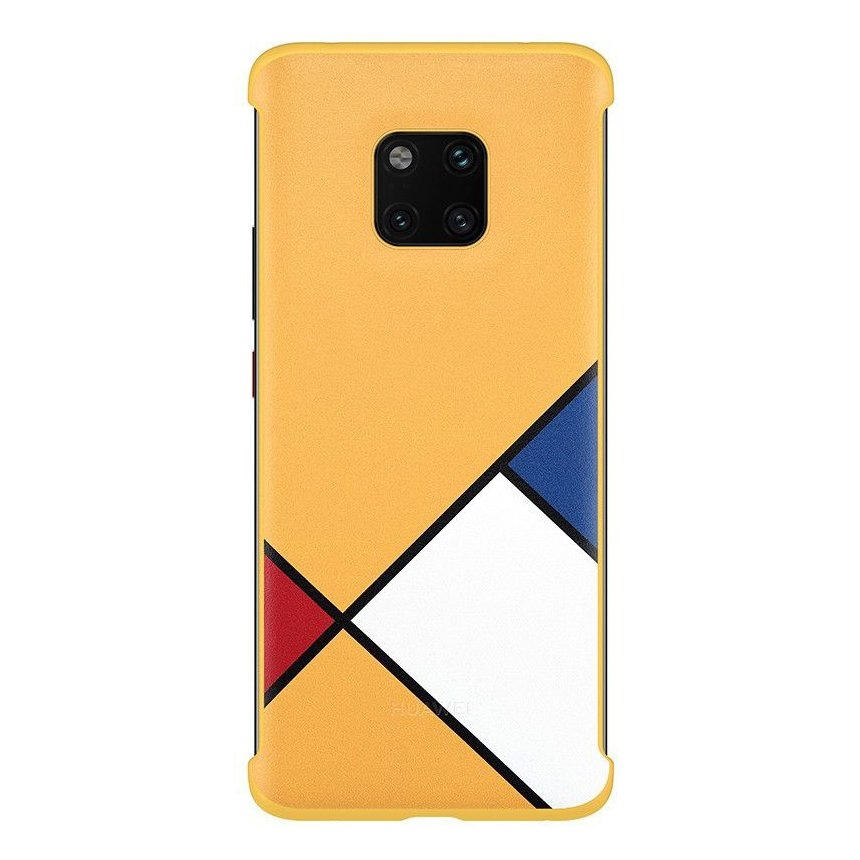 Official Huawei Σκληρή Θήκη Huawei Mate 20 Pro - Abstract Art Theme Case - Yellow (51992767)