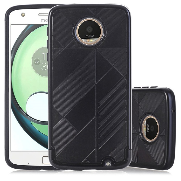 Etui Hybrid Θήκη Motorola Moto Z Play - Black (141722)