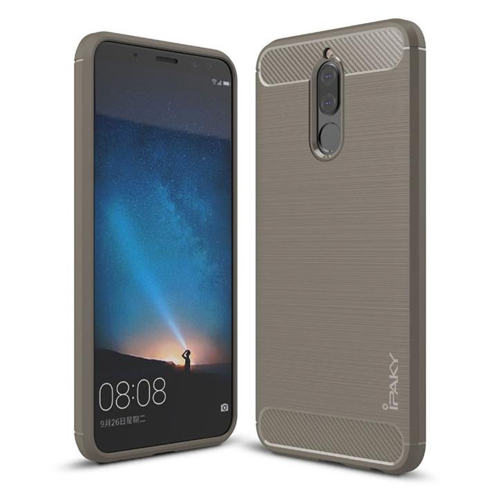 Ipaky Θήκη TPU Carbon Huawei Mate 10 Lite - Grey (13220)