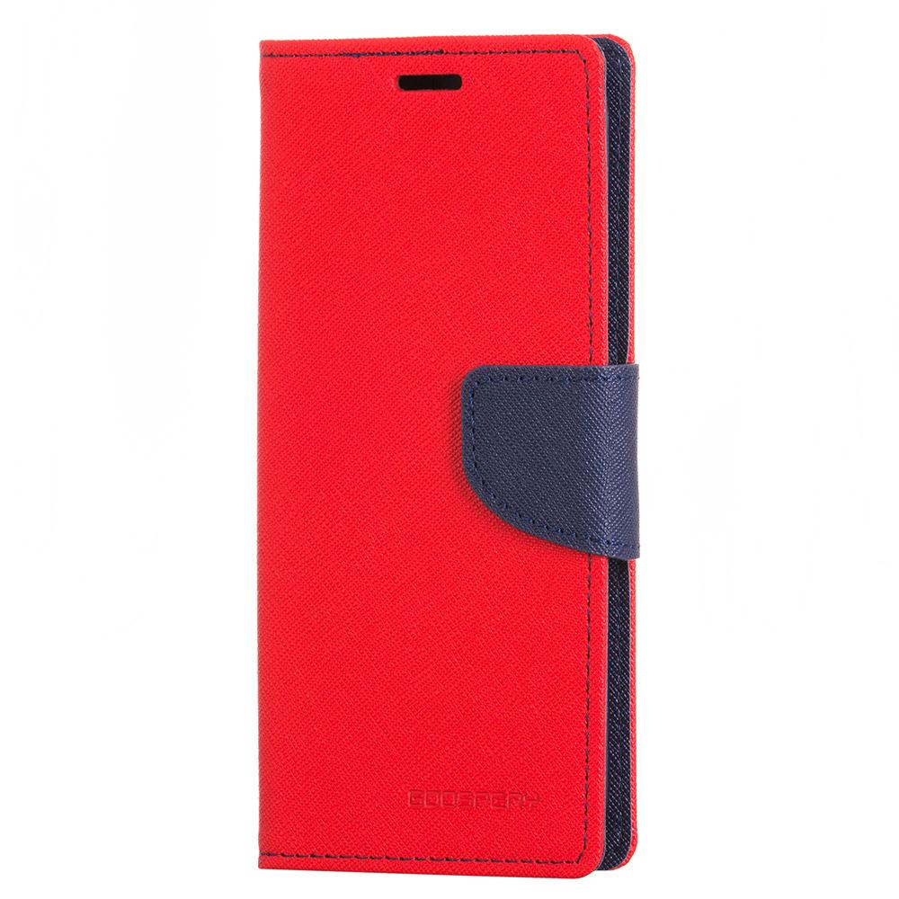 Mercury Fancy Diary Θήκη - Πορτοφόλι LG G6 - Red/Navy (12368) θήκες κινητών
