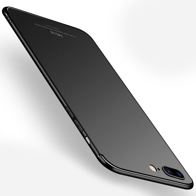 MSVII Super Slim Σκληρή Θήκη PC iPhone 8 Plus / 7 Plus - Black (K3-05)