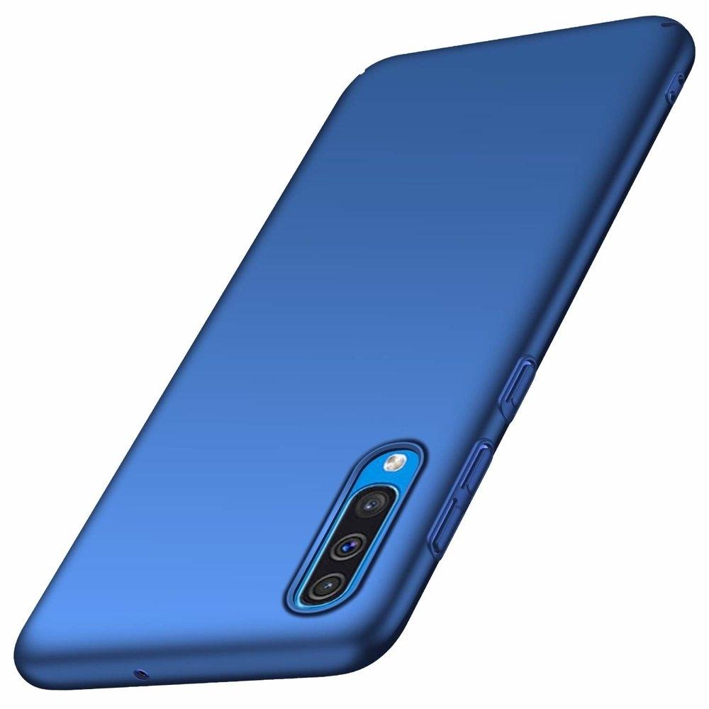 MSVII Super Slim Σκληρή Θήκη PC Samsung Galaxy A50 -  Blue (AI2-03)