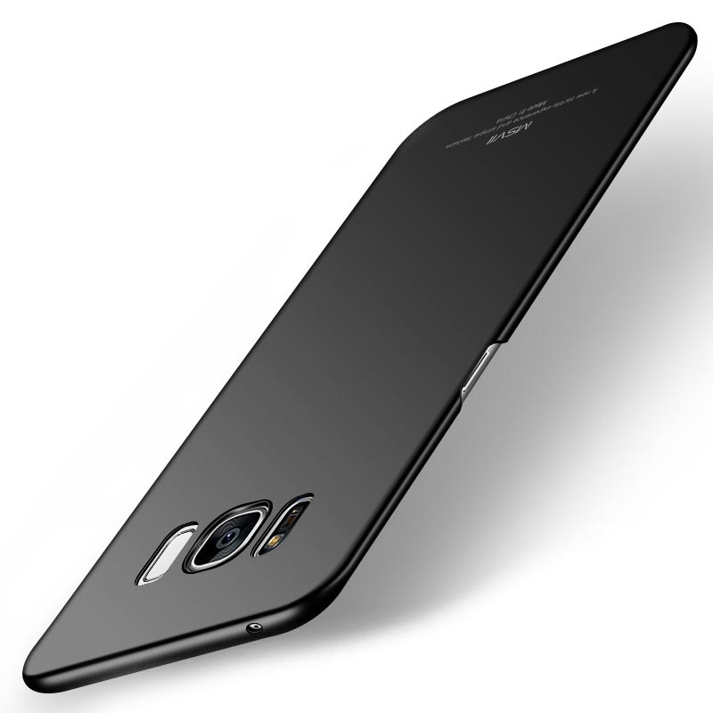MSVII Super Slim Σκληρή Θήκη PC Samsung Galaxy S8 - Black (I2-05)