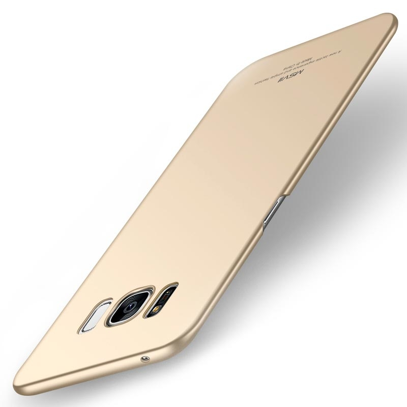 MSVII Super Slim Σκληρή Θήκη PC Samsung Galaxy S8 Plus - Gold (I3-02)