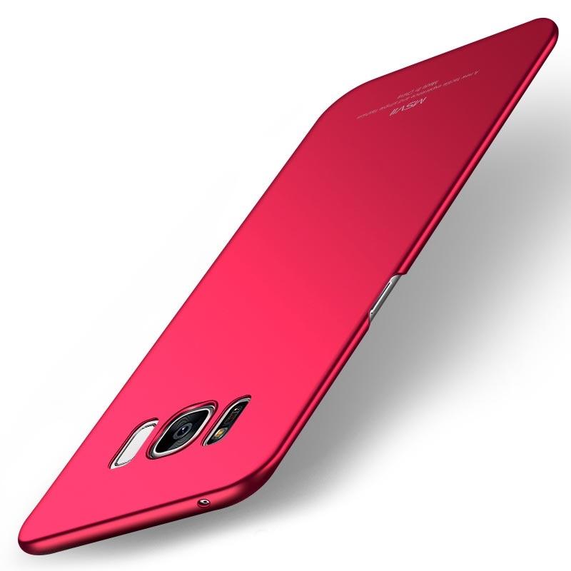 MSVII Super Slim Σκληρή Θήκη PC  Samsung Galaxy S8 Plus - Red (I3-03)