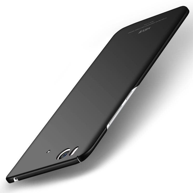 MSVII Super Slim Σκληρή Θήκη PC Xiaomi Mi 5S - Black (C3-05)