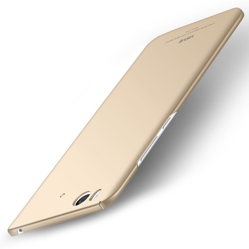 MSVII Super Slim Σκληρή Θήκη PC Xiaomi Mi 5S - Gold (C3-02)