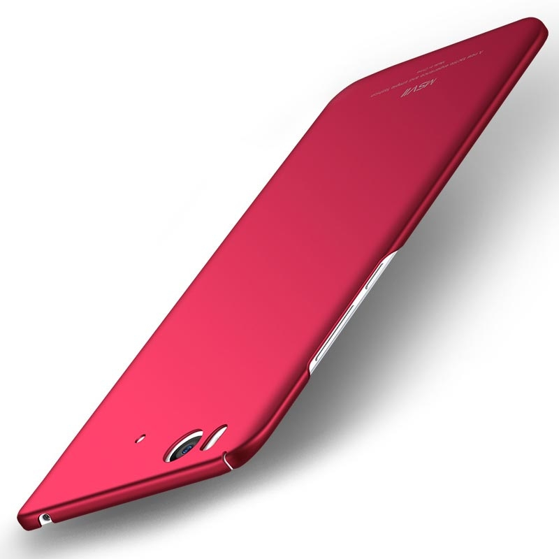 MSVII Super Slim Σκληρή Θήκη PC Xiaomi Mi 5S - Red (C3-03)