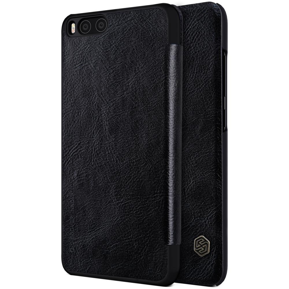 Nillkin Qin Δερμάτινη Θήκη - Πορτοφόλι Xiaomi Mi 6 - Black (11785)