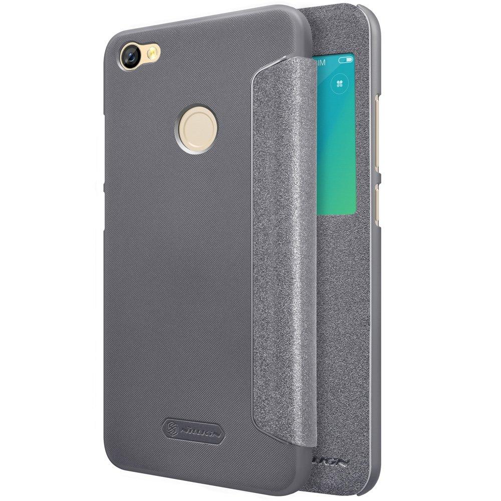 Nillkin Θήκη Sparkle View-Flip Xiaomi Redmi Note 5A Prime - Dark Grey (13406)
