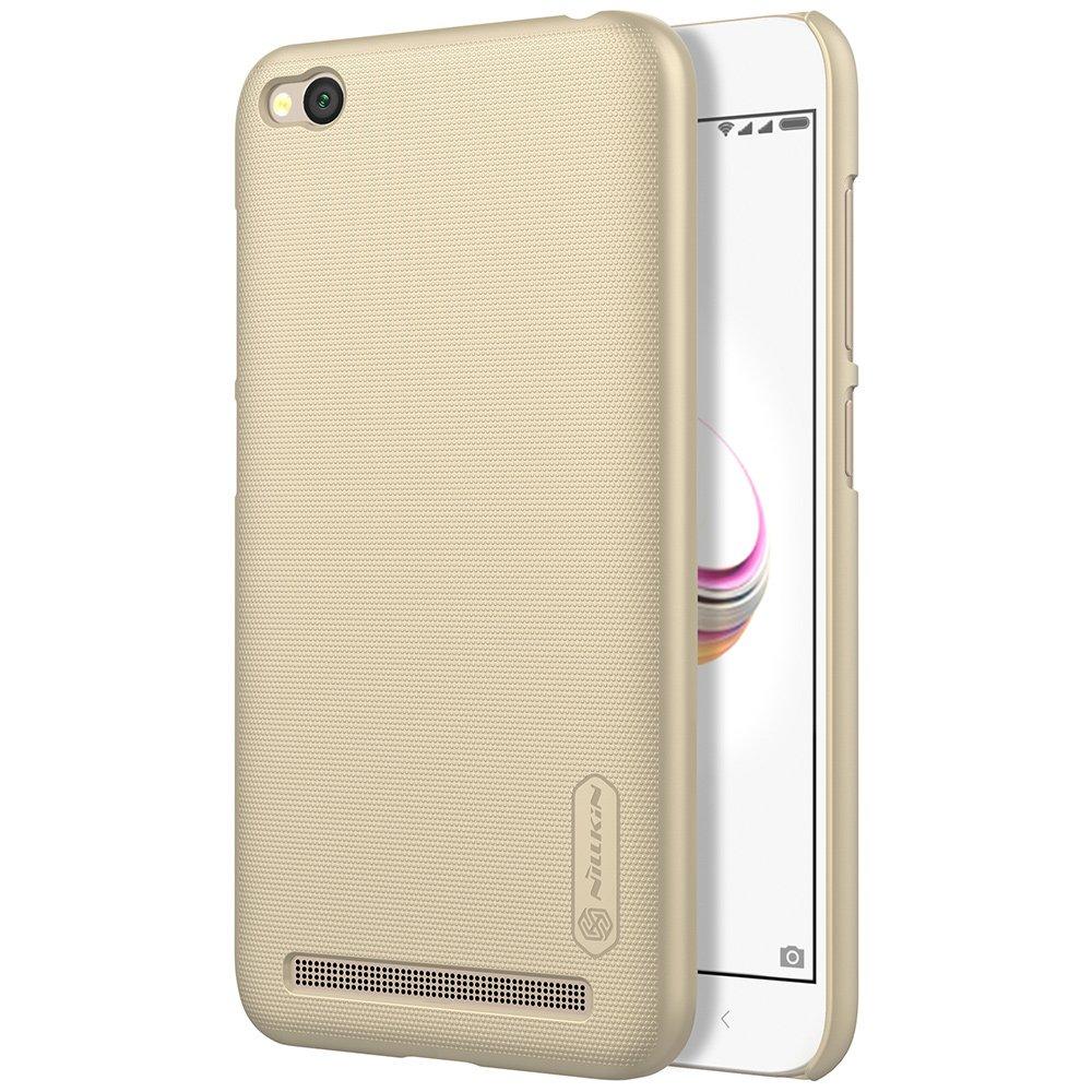 Nillkin Θήκη Super Frosted Shield Xiaomi Redmi 5A & Screen Protector - Gold (13481)