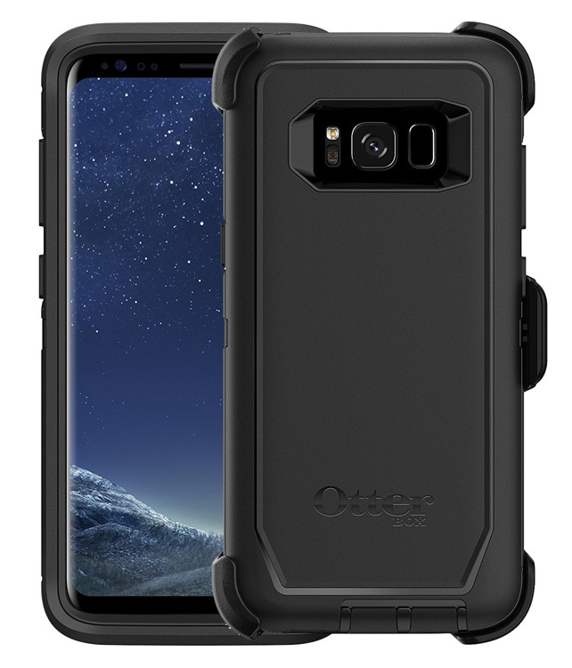 Otterbox Defender Ανθεκτική Θήκη Samsung Galaxy S8 - Black (77-54515)