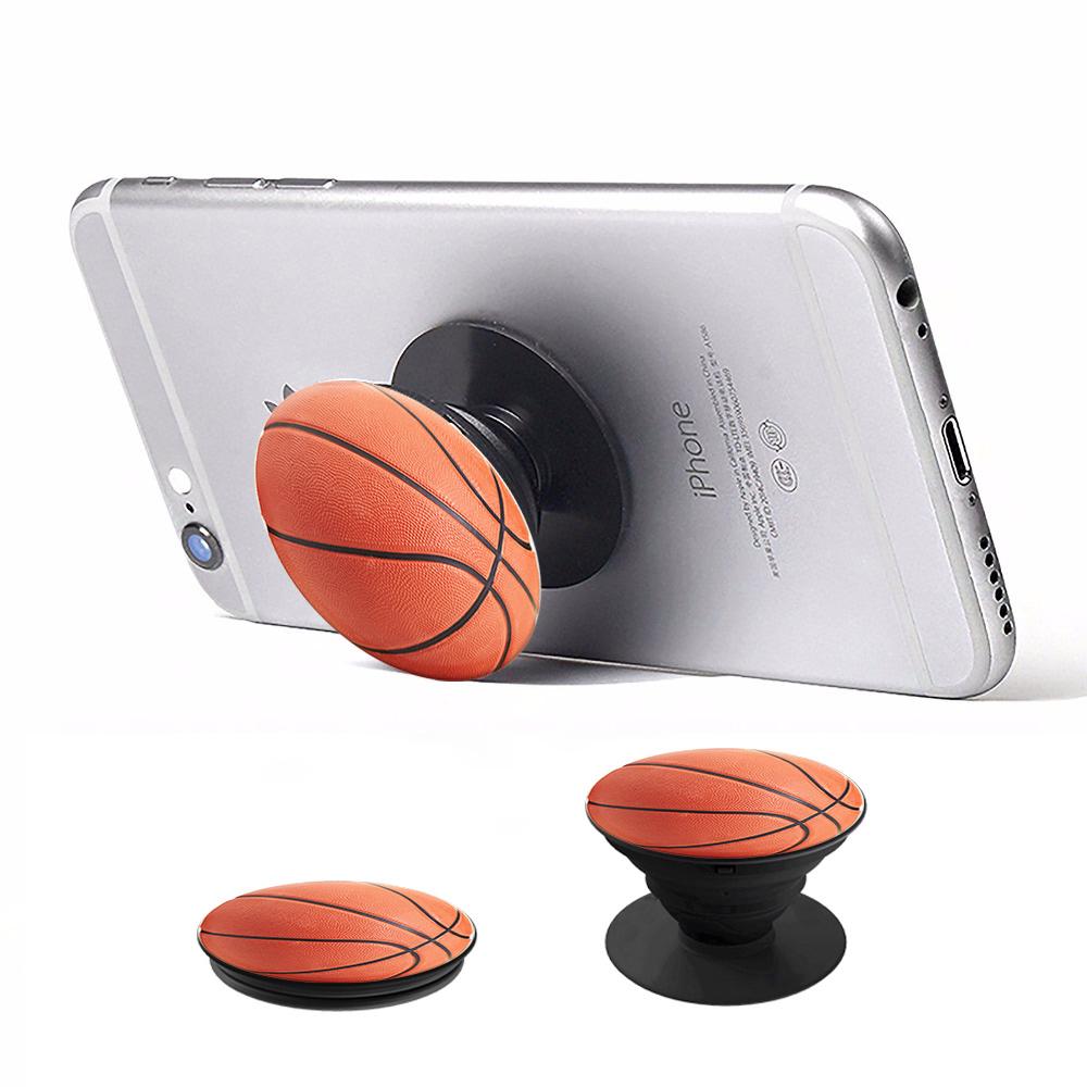 Pop Socket & Βάση Αυτοκινήτου - Basketball - OEM (11607)