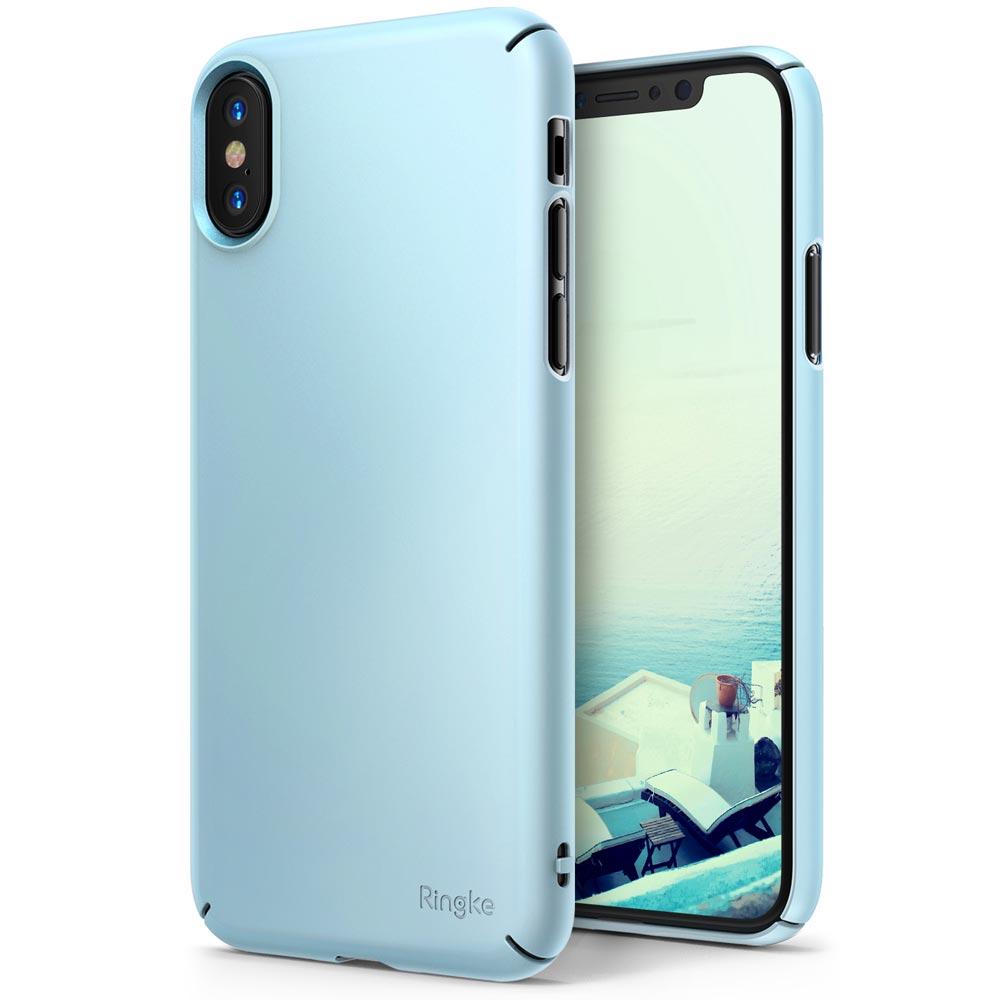 Ringke Slim Θήκη iPhone X / XS - Sky Blue (11952)