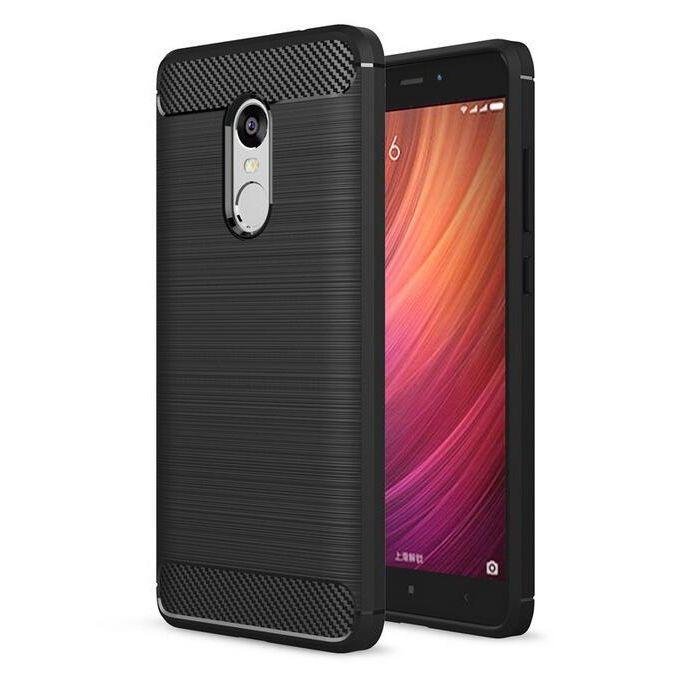 Θήκη TPU Carbon Xiaomi Redmi Note 4X - Black - OEM (10634)