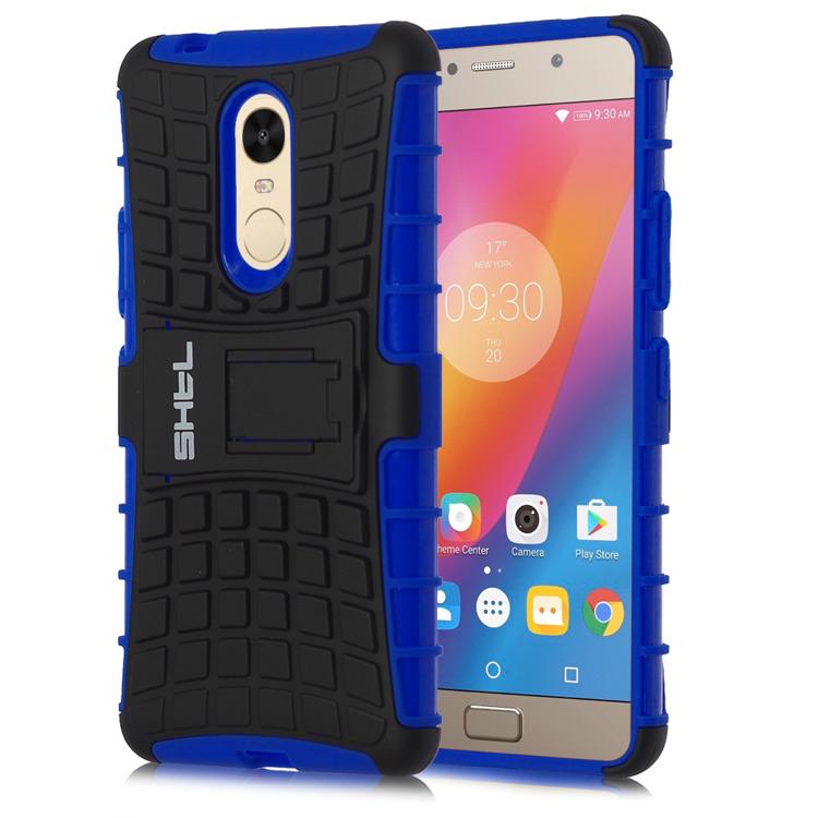 SHTL Ανθεκτική Θήκη Lenovo K6 Note - Blue (140801)