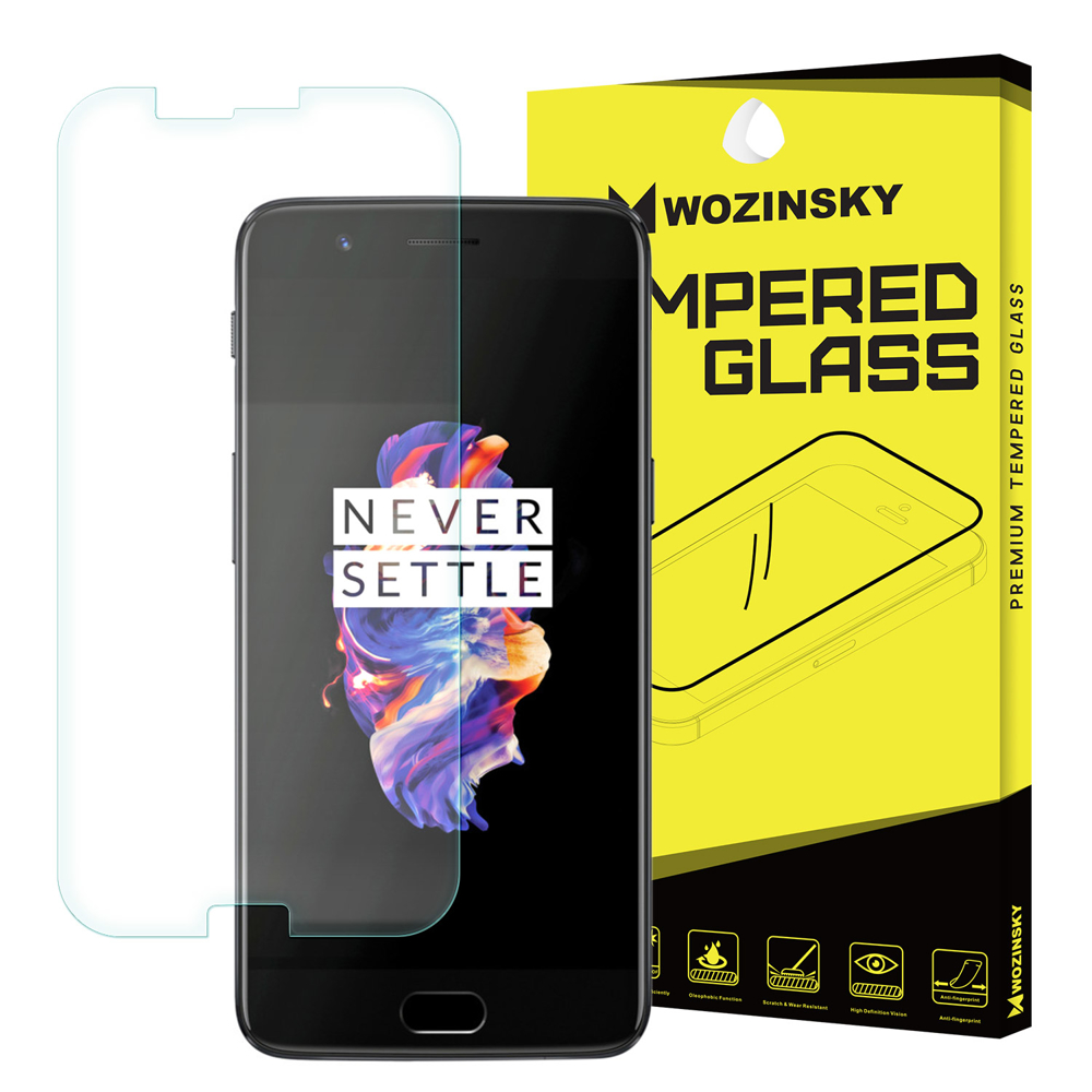 Wozinsky Tempered Glass - Αντιχαρακτικό Γυαλί Οθόνης OnePlus 5 (12384)