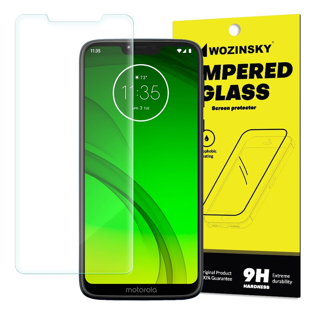 Wozinsky Premium Tempered Glass - Αντιχαρακτικό Γυαλί Οθόνης Motorola Moto G7 Power (49401)