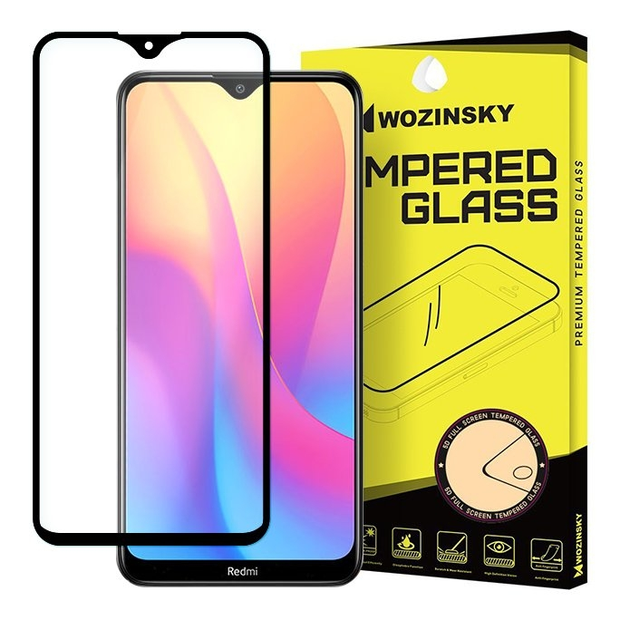 Wozinsky Tempered Glass - Fullface Αντιχαρακτικό Γυαλί Οθόνης Xiaomi Redmi 8A - Black (59463)