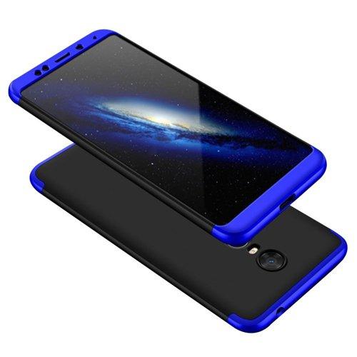 Θήκη Hybrid Full Body 360° Xiaomi Redmi 5 Plus - Black/Blue (13471) - OEM