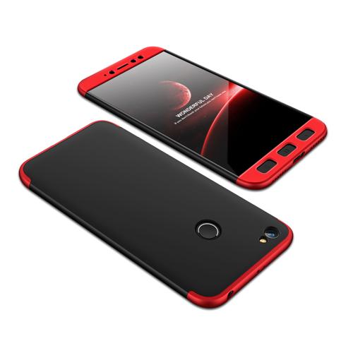 Θήκη Hybrid Full Body 360° Xiaomi Redmi Note 5A Prime - Black/Red (13467) - OEM
