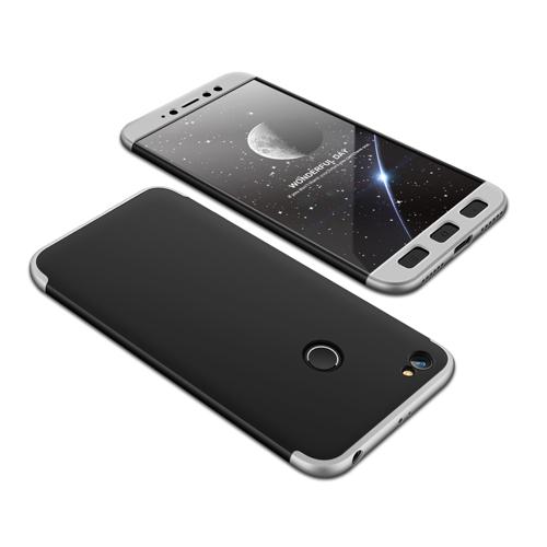 Θήκη Hybrid Full Body 360° Xiaomi Redmi Note 5A Prime - Black/Silver (13466) - OEM