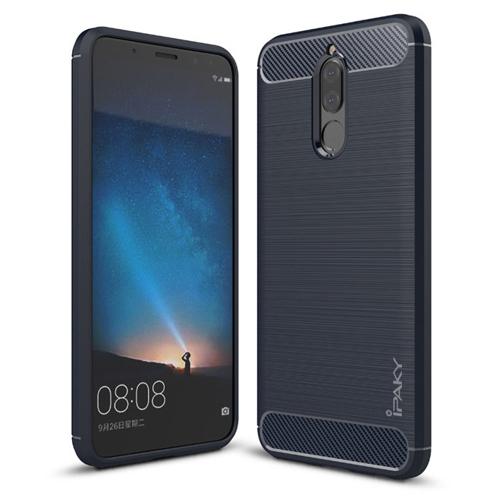 Ipaky Θήκη TPU Carbon Huawei Mate 10 Lite - Blue (13221)