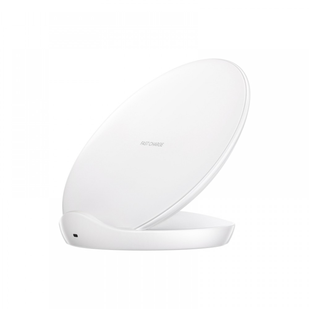 Official Samsung Wireless Charger - Ασύρματος Φορτηστής Qi Fast Charge με Stand - White (EP-N5100BWEGWW)