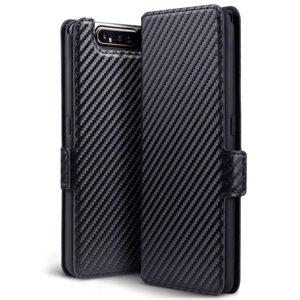 Terrapin Low Profile Θήκη - Πορτοφόλι Carbon Fibre Samsung Galaxy A80 - Black (117-002a-164)