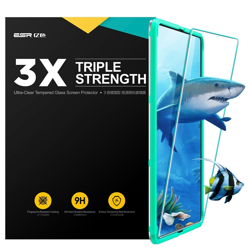ESR Triple Strength - Ultra-Clear Tempered Glass Screen Protector iPad Pro 11'' 2018 - 0.3mm (14673)