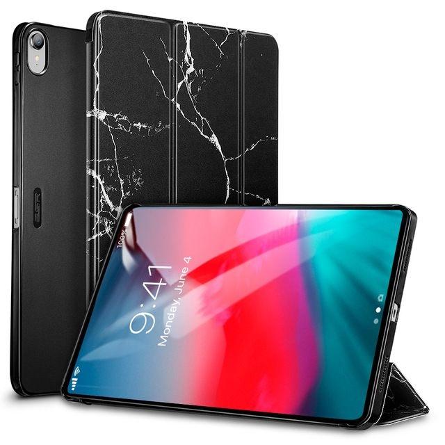ESR Vogue-Marble Series - Smart Cover Θήκη iPad Pro 11'' 2018 - Black Marble (46829)