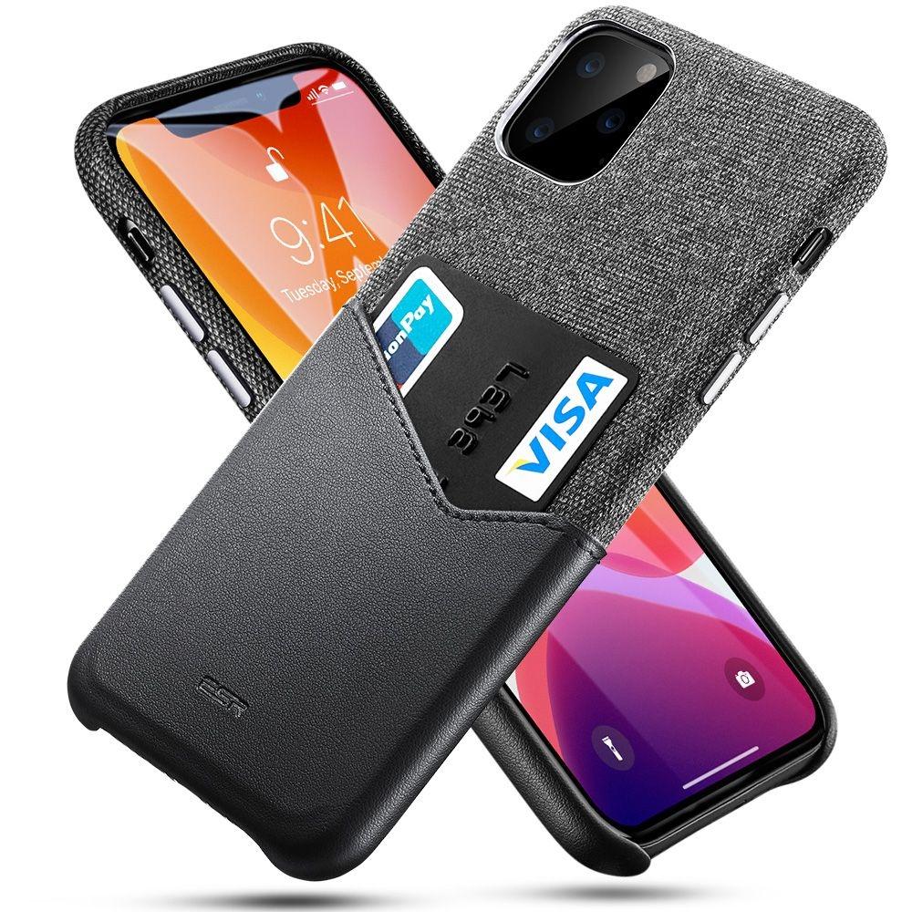 ESR Metro Wallet - Θήκη Με Υποδοχή για Κάρτες iPhone 11 Pro - Black (53406)
