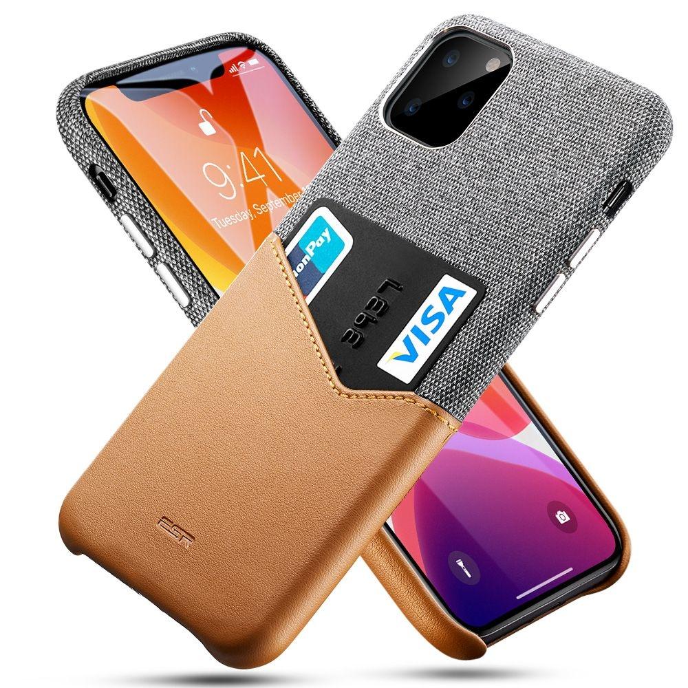 ESR Metro Wallet - Θήκη Με Υποδοχή για Κάρτες iPhone 11 Pro Max - Brown (53410)