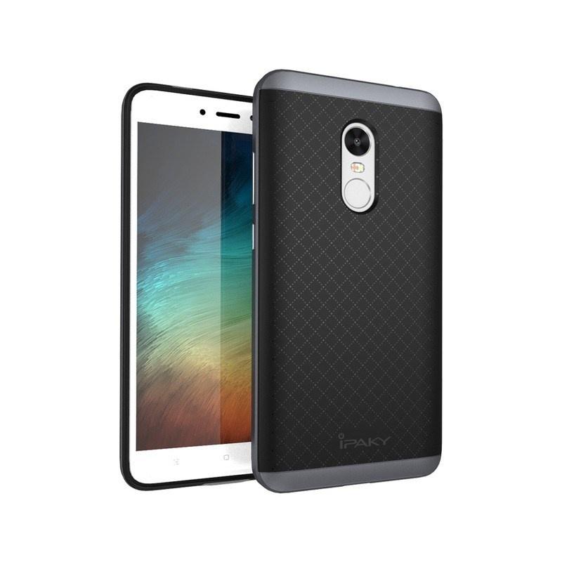 Ipaky Θήκη Hybrid Xiaomi Redmi Note 4X / Redmi Note 4 (Snapdragon Global Version) - Black/Grey (IPK092GRY)