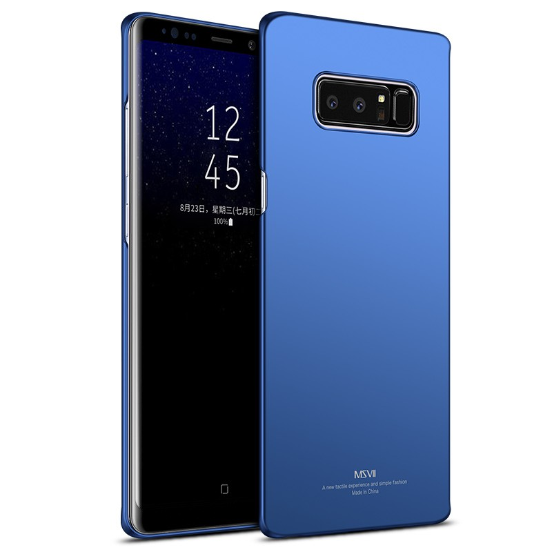 MSVII Super Slim Σκληρή Θήκη PC Samsung Galaxy Note 8 - Blue (R4-04)