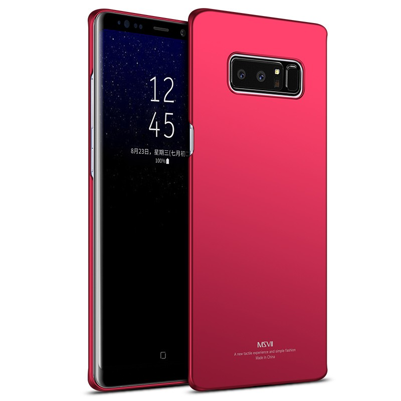 MSVII Super Slim Σκληρή Θήκη PC Samsung Galaxy Note 8 - Red (R4-03)
