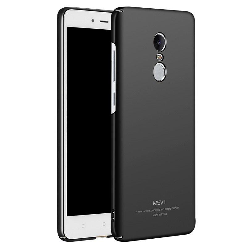 MSVII Super Slim Σκληρή Θήκη PC Xiaomi Redmi Note 4X / Redmi Note 4 (Snapdragon Global Version) - Black (MS7008BLK)