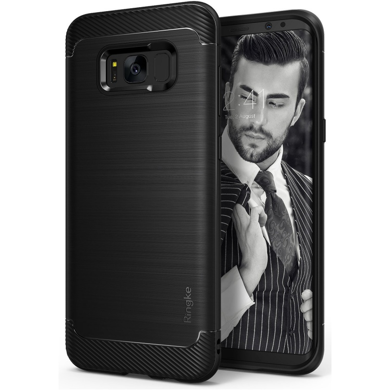 Etui Ringke Onyx Samsung Galaxy S8 - Black (RFS-GXS8E-IB)