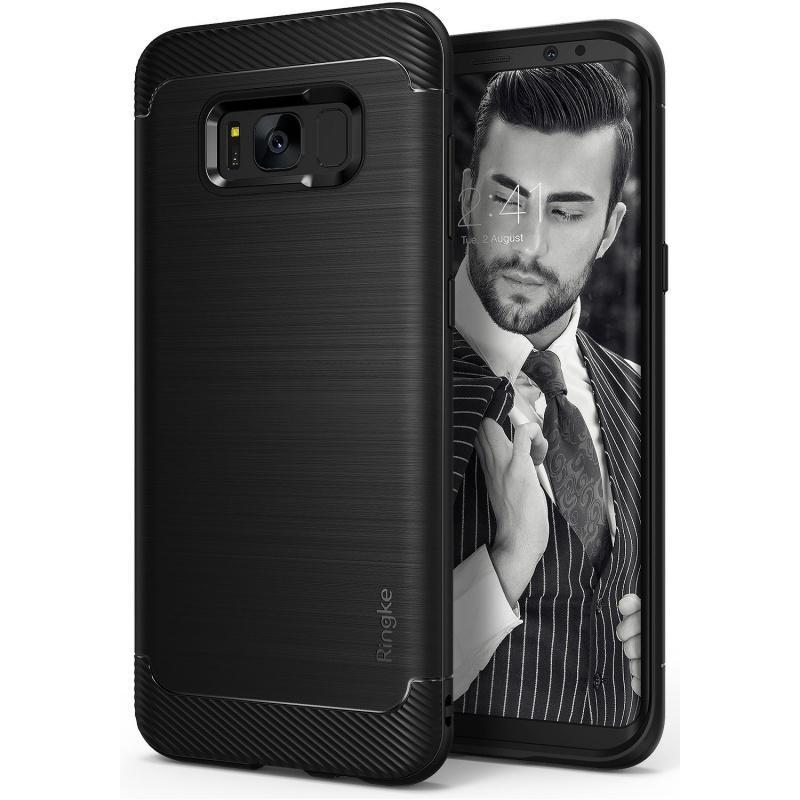 Etui Ringke Onyx Samsung Galaxy S8 Plus - Black (ROX-GXS8P-BLK)