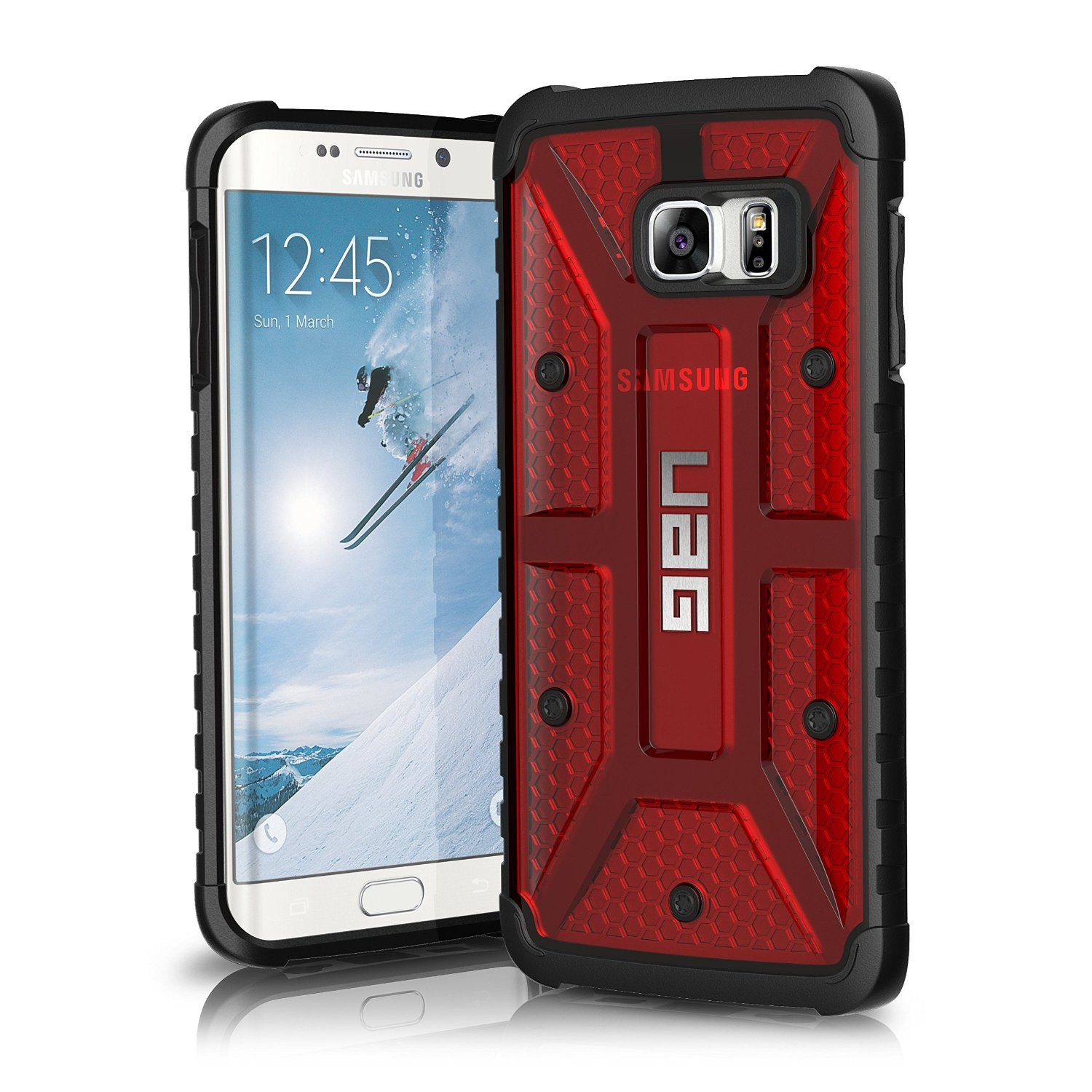 UAG Θήκη Feather-Light Composite Samsung Galaxy S6 Edge Plus - Magma (8442)