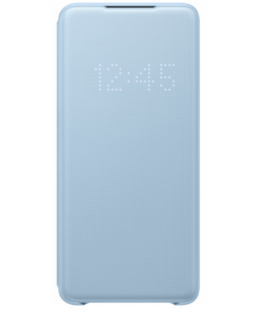 Official Samsung Led View Cover Samsung Galaxy S20 Ultra - Sky Blue (EF-NG988PLEGEU)