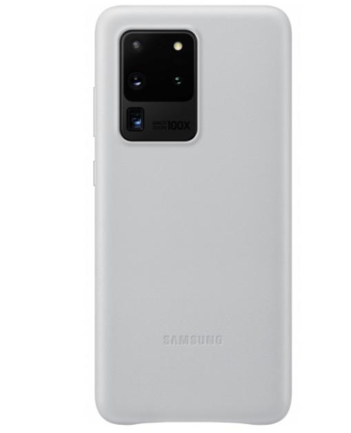 Official Samsung Δερμάτινη Θήκη Samsung Galaxy S20 Ultra - White (EF-VG988LWEGEU)