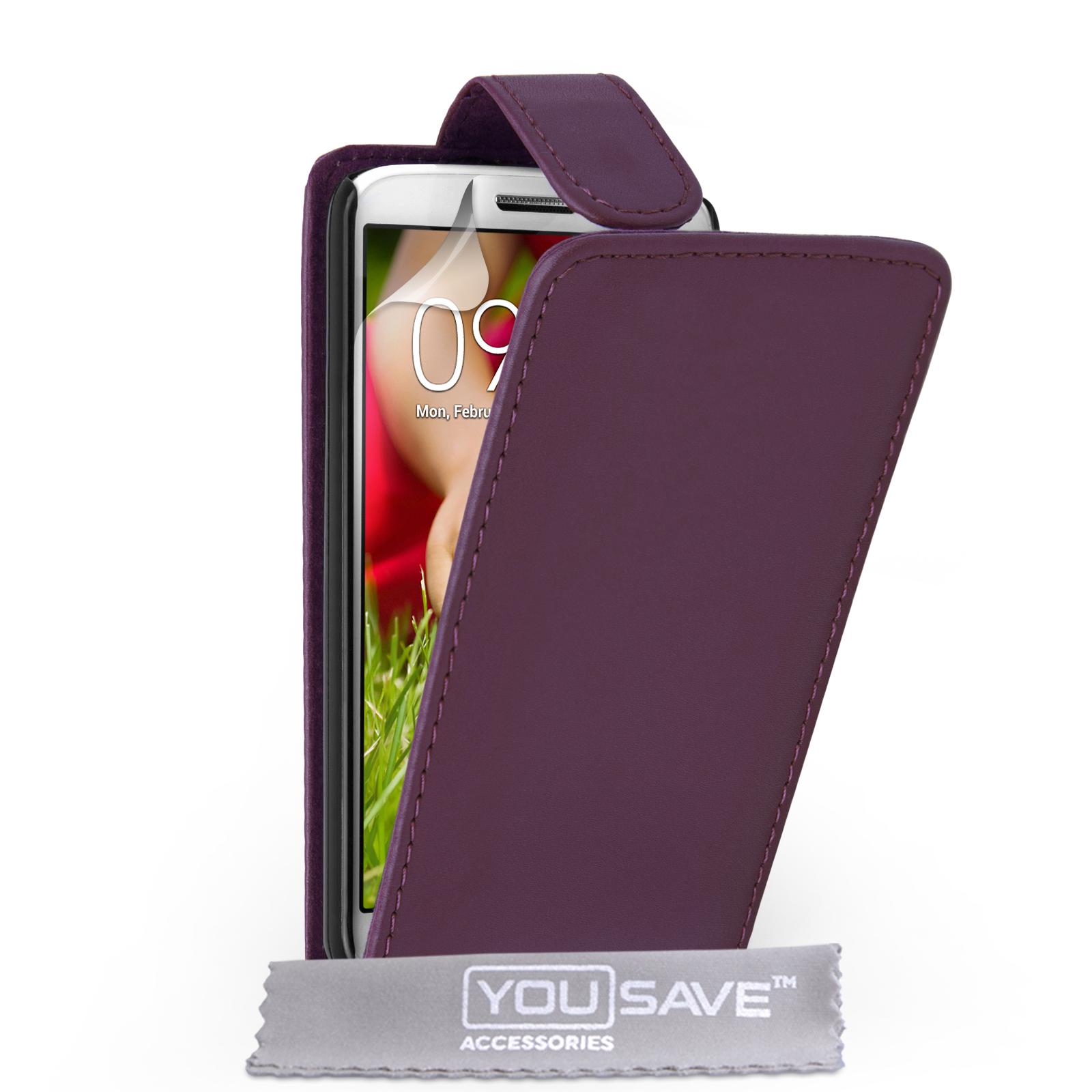 Flip Θήκη LG G2 Mini by YouSave (Z411-G2M)