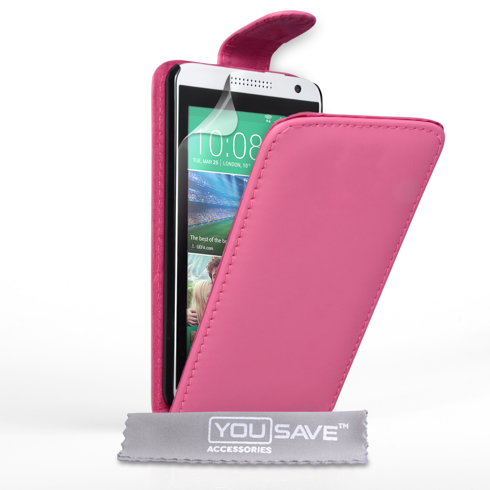 Flip Θήκη HTC Desire 610 by YouSave (Z445)
