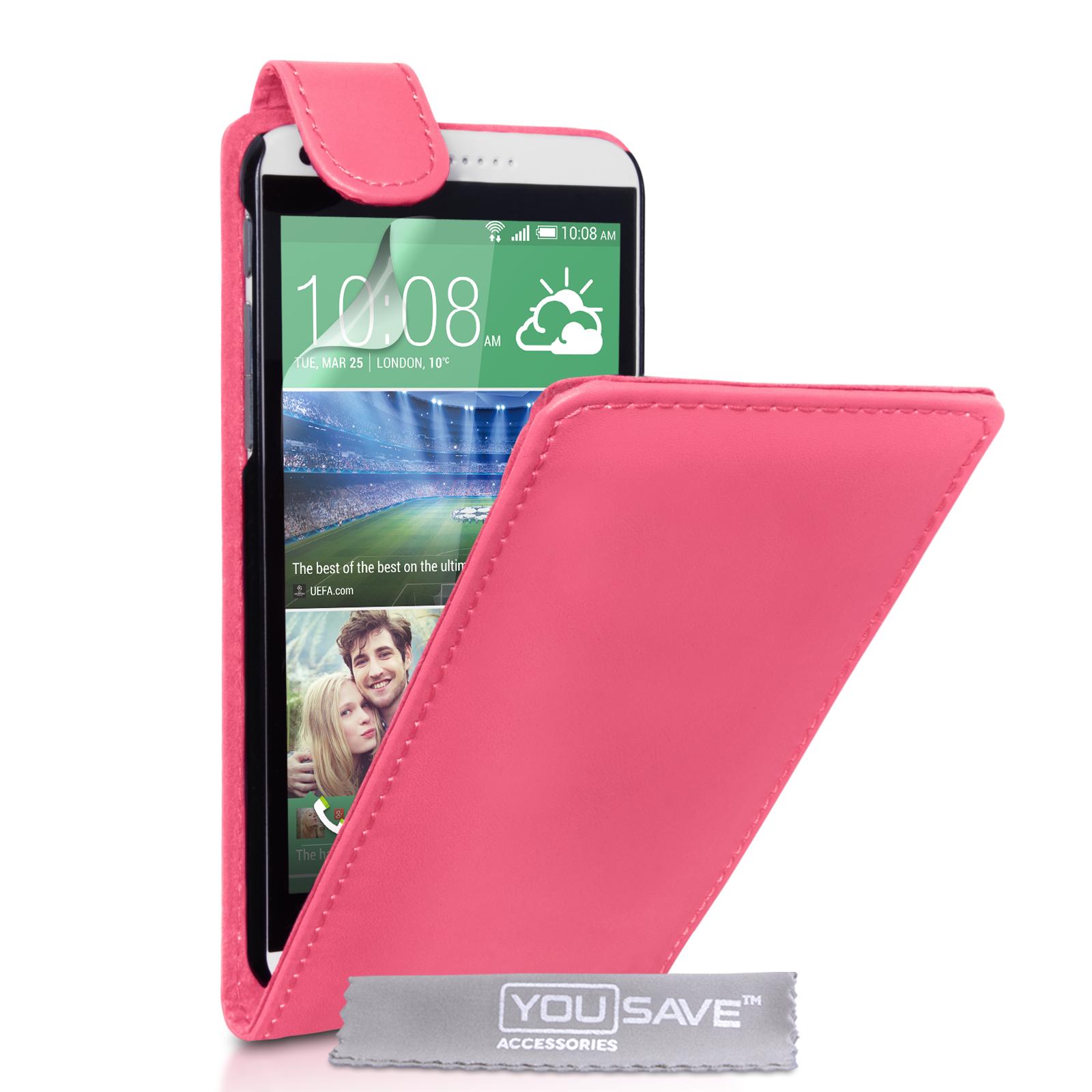 Flip Θήκη HTC Desire 816 by YouSave (Z406)