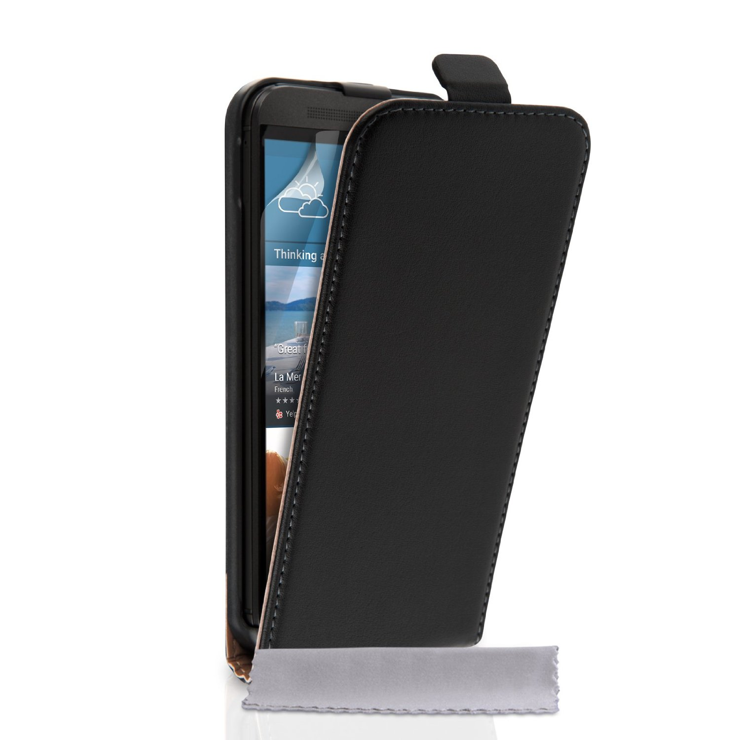 Flip Θήκη HTC One M9 Plus by Caseflex (Z005)