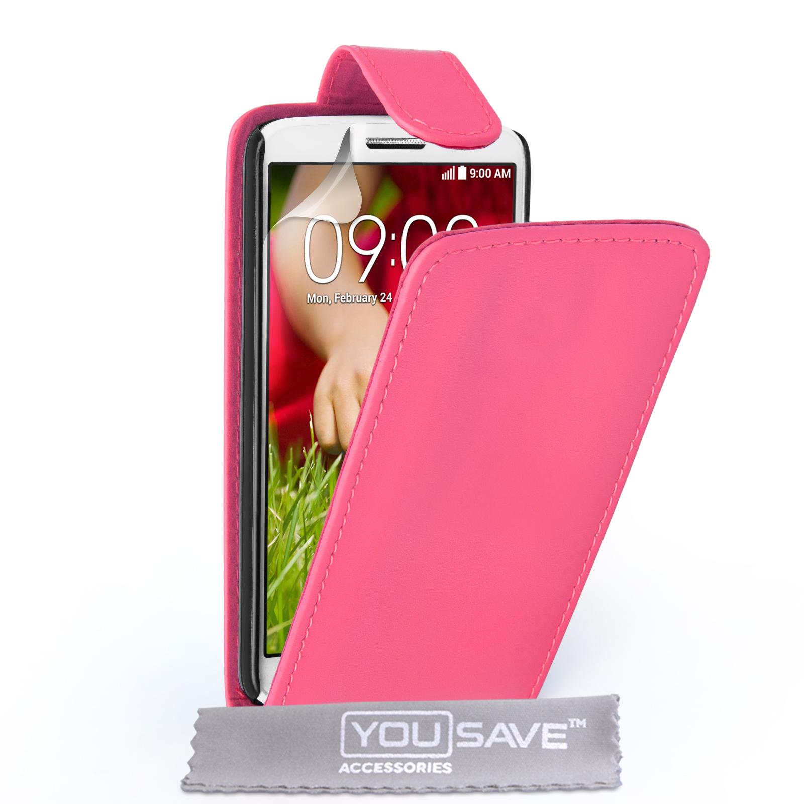 Flip Θήκη LG G2 Mini by YouSave (Z410-G2M)