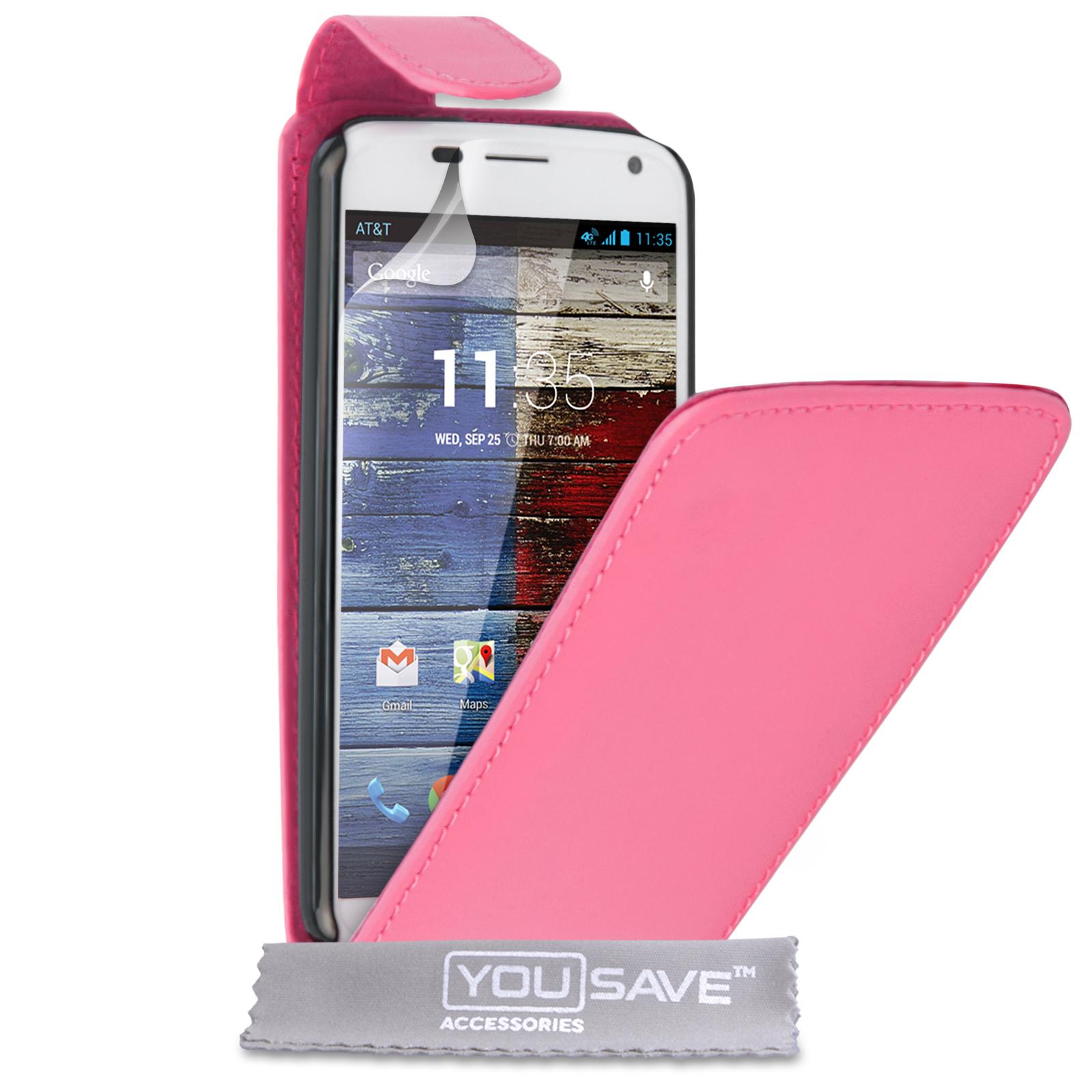 Flip Θήκη Motorola Moto X by YouSave (Z185)