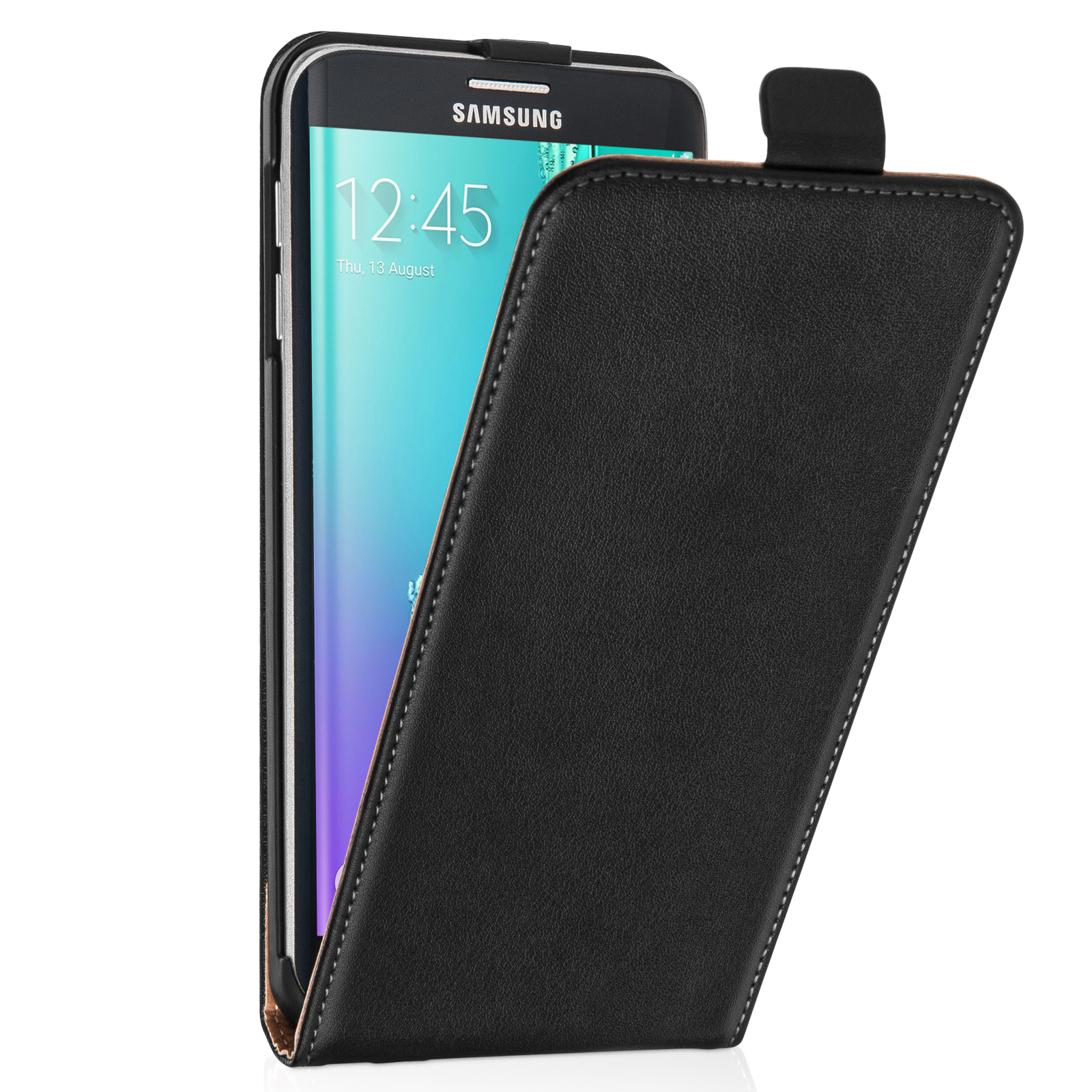 Flip Θήκη Samsung Galaxy S6 Edge Plus by Caseflex (Z833)